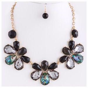 Oceanic Jewel Necklace Set NWT